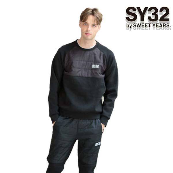 SY32 by SWEET YEARS プルオーバー 9108 メンズ パーカー トップス ブラック M/L/XL