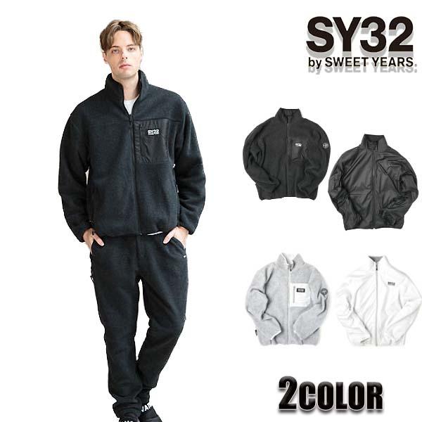国内初の直営店 SY32 by SWEET by YEARS ジャケット ジャケット メンズ フリースブルゾントップス ブラック グレー ブラック M/L/XL:SOL ブランド.ファッション, ブランド雑貨サザンクロス:d27aff8d --- nagari.or.id