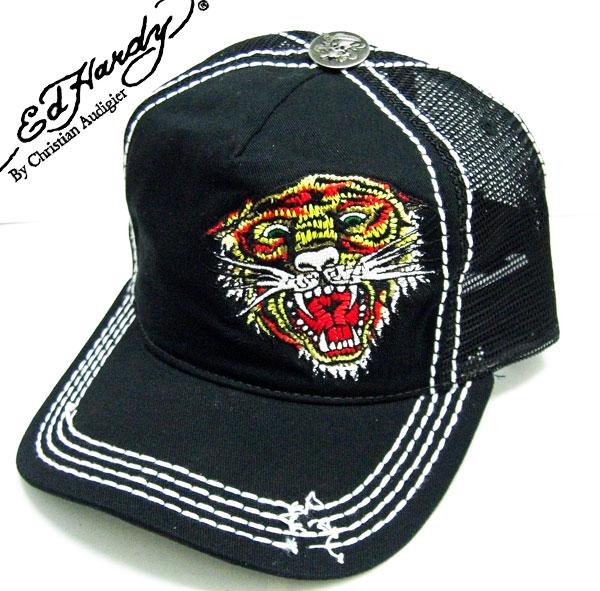 3c288e5efb48 Ed Hardy caps ED HARDY Ed Hardy CAP TIGER Tiger damage process black  A0O0HAAZ Ed-Hardy EDHARDY Hat