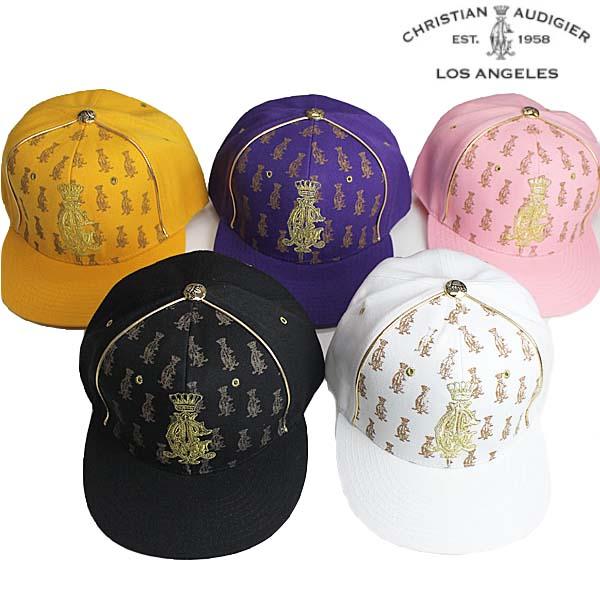 Christian Audigier キャップ クリスチャンオードジェー ニューエラ ベースボール 帽子 CAP フレックスフィットタイプ