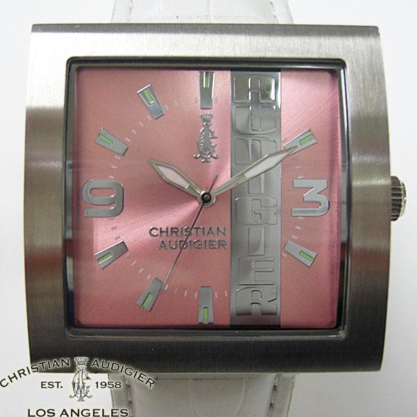 送料無料 Christian Audigier 時計 クリスチャン 腕時計 オードジェー ホワイト 付与 25%OFF SWI-639 ユニセックス