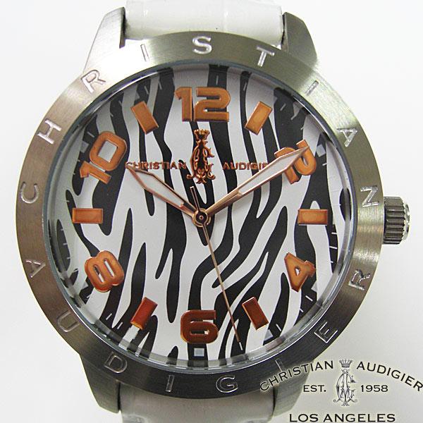 送料無料 限定価格セール Christian 引き出物 Audigier 時計 クリスチャン ブラック オードジェー SWI-641 メンズ 腕時計