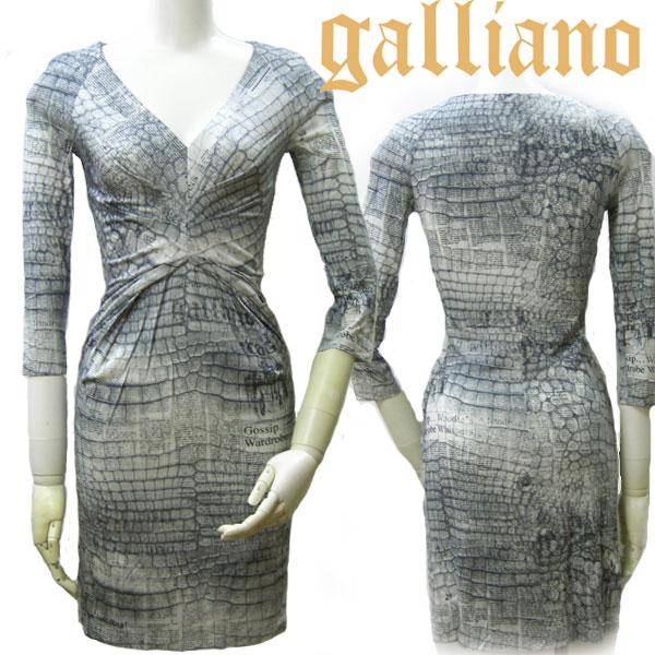 Galliano ガリアーノ レディース ワンピース ひざ上 ワンピ YR74E7 JohnGalliano ジョンガリアーノ
