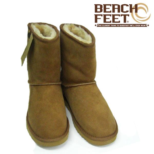 ビーチフィート BEACH FEET ムートンブーツ レディース シープスキンブーツ TOWNE LO WOS 7201