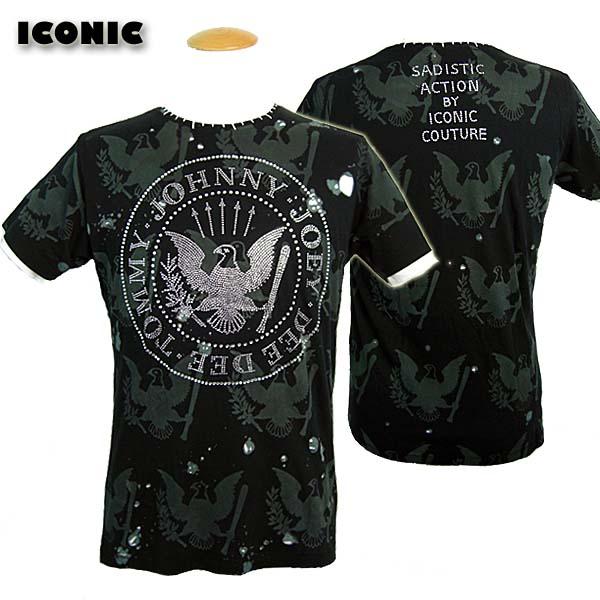 サディスティックアクション SADISTIC ACTION アイコニック ICONIC COUTURE Tシャツ メンズ JOHNNY