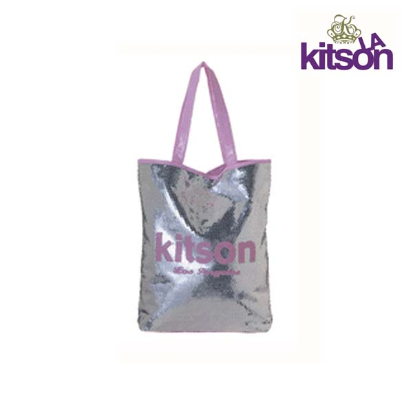 Kitson トートバッグ キットソン スパンコール Sequin Summer Tote