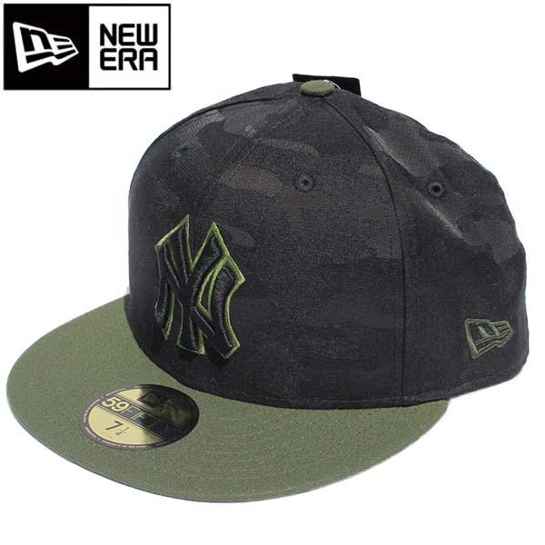 ニューエラ NEWERA キャップ スナップバック キャップ SE18 5950 MEMORIAL DAY NEYYAN×CM 刺繍 11756224 カモフラージュ 迷彩 メンズ レディース 帽子 CAP ニューヨークヤンキース 野球 メジャーリーグ