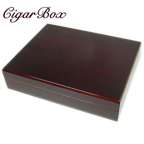 春山製 シガーボックス HL110 コロナサイズ18本用 ブラウン 室内用 葉巻の保管庫(ヒュミドール)