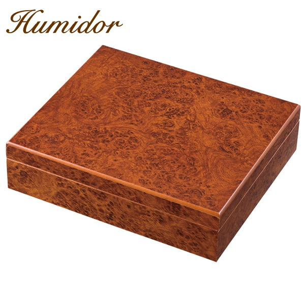 N&K ヒュミドールS コロナサイズ30本用 室内用 葉巻の保管庫 シガーボックス 柘製作所 81651【80サイズ】