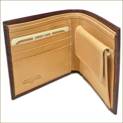 Peroni peroni钱包80011胸罩年/天然牛皮制造对开钱包