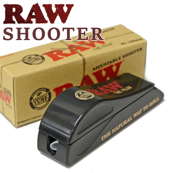RAW ロウ シューター 携帯用レギュラーチューブマシーン チュービングタバコ製造機