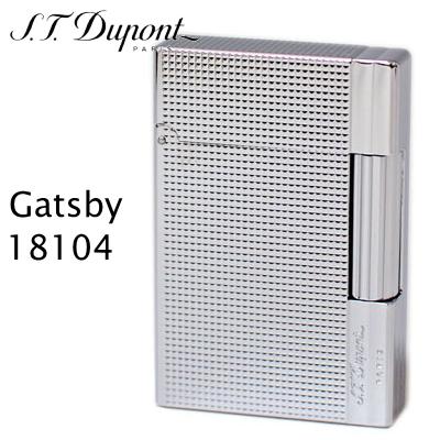 デュポン ギャツビー ライター 18104 ダイヤモンド・ヘッド クローム装飾 【正規品】【新品】 フリントガスライター