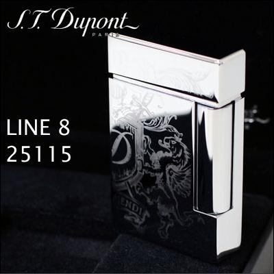 エス・テー・デュポン 25115 ライン8 ライター 25115 ブラゾン ブラゾン クロム装飾 フリントガスライター ライター デュポンライター, 和柄とアメカジバイカーのJ.Field:3926853c --- officewill.xsrv.jp