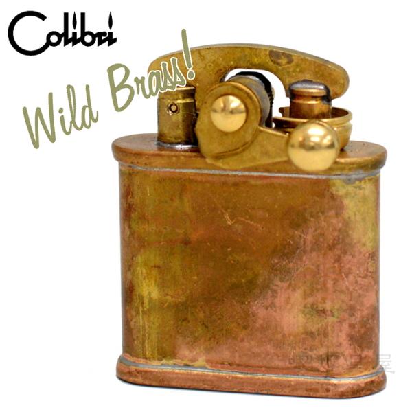Colibri コリブリ 308M-001 ワイルドブラス フリントオイルライター