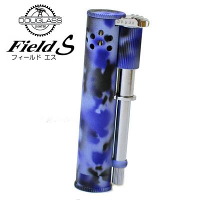 【完売】DOUGLASS ダグラス フィールドS ライター カモフラージュマリン 迷彩ブルー オイルライター