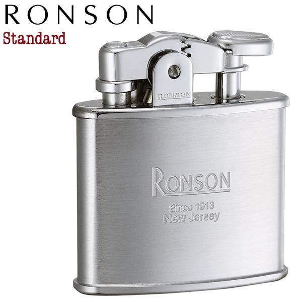 RONSON Standard ロンソン スタンダード R02-0026 クロームサテン オイルライター