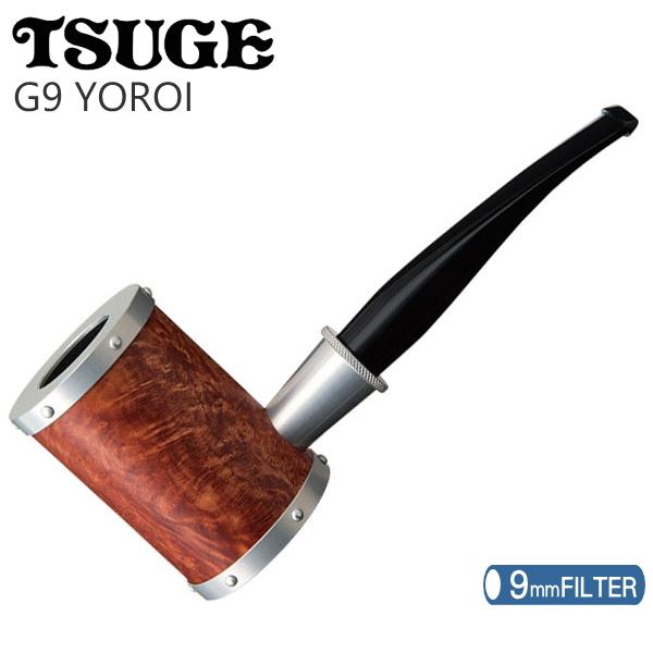 TSUGE ツゲパイプ G9 ヨロイ スムース 【9mmフィルター対応】 柘製作所 45332