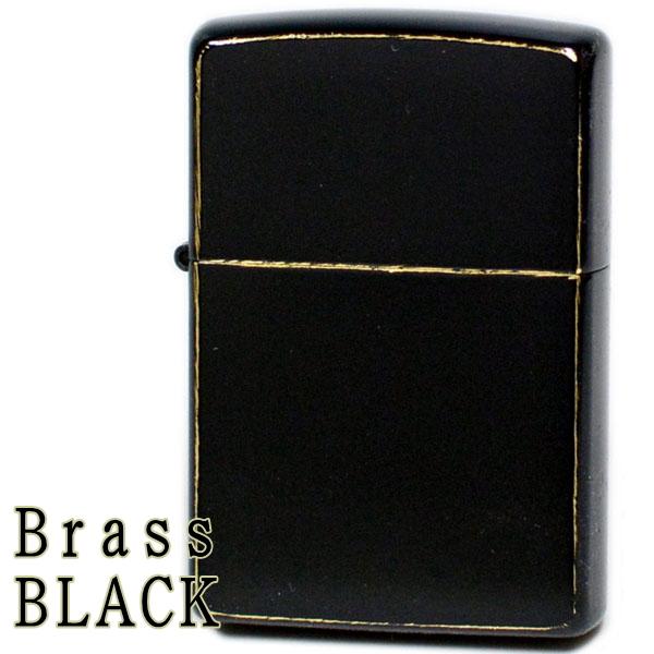 ZIPPO ジッポー Brass BLACK ブラスブラック ダメージ仕上げ ジッポーライター オイルライター zippo
