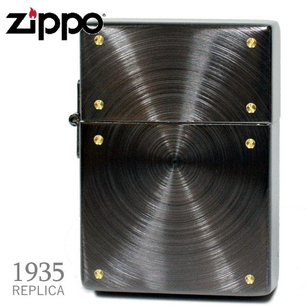 ZIPPO 1935 ジッポー 1935レプリカスピンスクリュー ブラックニッケル 1935BNSP-SF 渋いジッポーライターメンズ ギフト