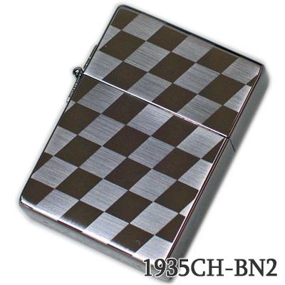 ZIPPO ジッポー 1935CH-BN2 1935レプリカ チェック柄 ブラックニッケルメンズ ギフト