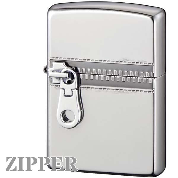ZIPPO ジッポー ZIPPER ジッパー NiB ニッケル イブシ シルバー 銀色 おもしろい ZIPPOライター ユニーク メンズ ギフト
