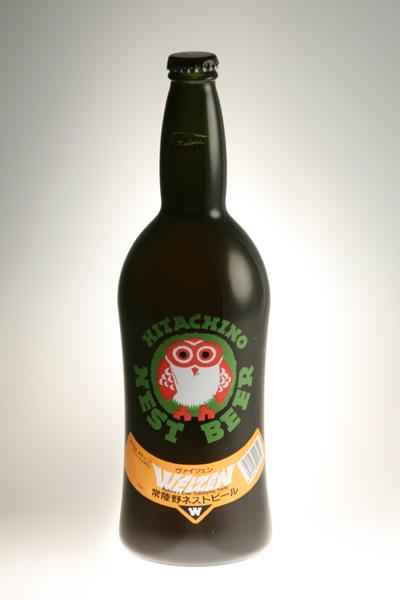 バナナ クローブの香りが織りなす 香り高いうすにごり小麦ビール 常陸野ネストビール ヴァイツェン オリジナル ビール クラフトビール Weizen 720ml 地ビール 配送員設置送料無料