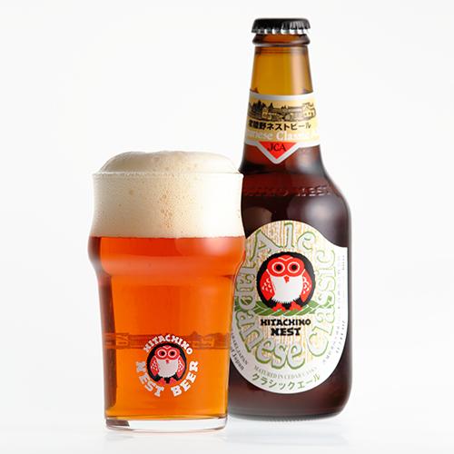 古のビールを再現したクラシックな味わいの杉樽仕込みビール 【常陸野ネストビール】ジャパニーズ・クラシック・エール Japanese Classic Ale 330ml【クラフトビール】【地ビール】【ビール】