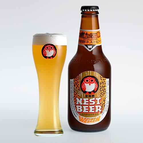 華やかな香りのうすにごり小麦ビール トラスト 常陸野ネストビール ヴァイツェン Weizen ビール 330ml 地ビール 40%OFFの激安セール クラフトビール