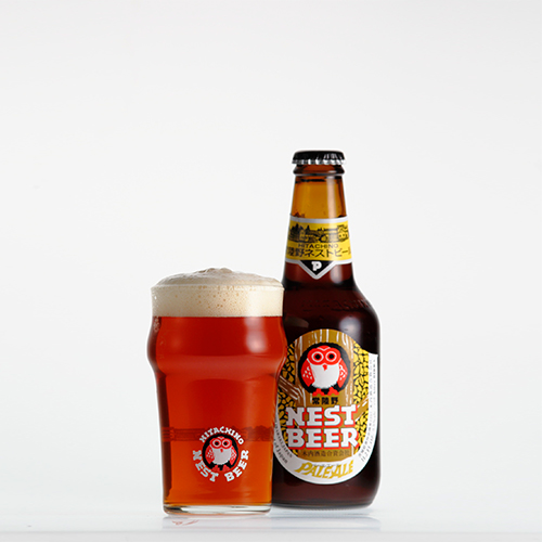 英国産麦芽、ホップをもちいて醸造した本格的英国スタイルのペールエール 【常陸野ネストビール】ペールエール Pale Ale 330ml【クラフトビール】【地ビール】【ビール】