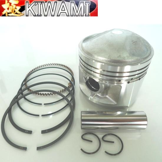 KIWAMI ピストンキット(1.00mmオーバーサイズ) FOR スズキ S-GS400 ('77-79)