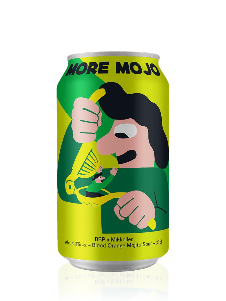 ベルギーのBBPとデンマークのミッケラーのコラボビールです モア モジョ 内祝い 限定価格セール 缶 330ml