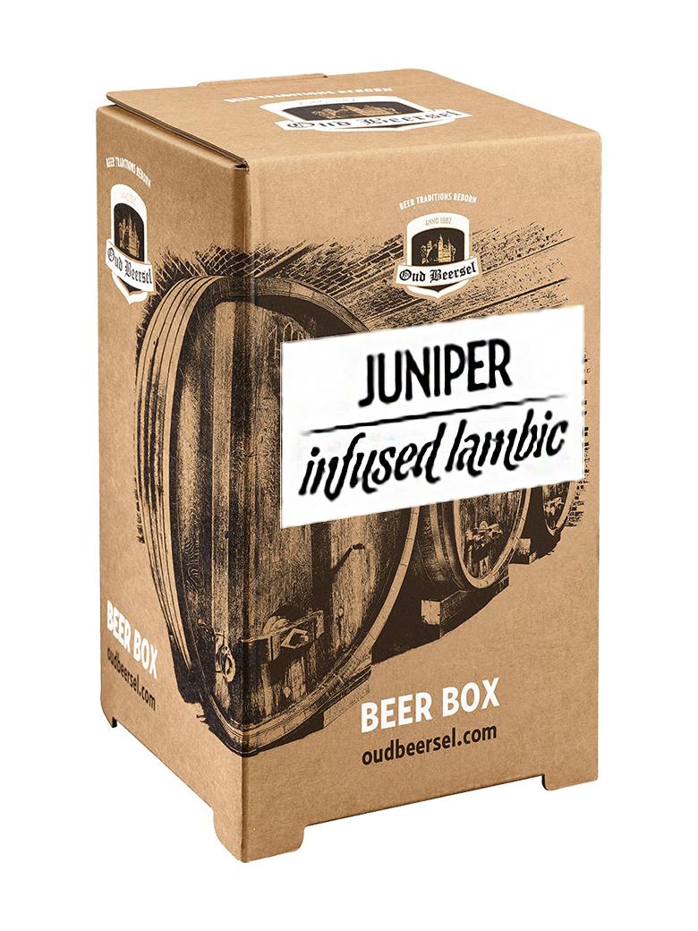 ジュニパーベリーを漬け込んだ 超激得SALE ストレートランビックです ジュニパーベリー ランビック3.1L バックインボックス 1着でも送料無料
