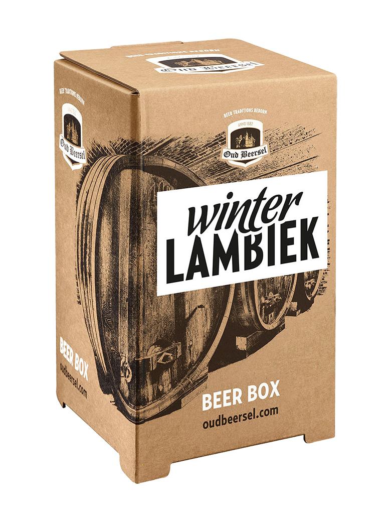 安値 百貨店 ストレートランビックに松の芽を漬け込んだ 冬限定のランビック ウィンター ランビック3.1L バックインボックス