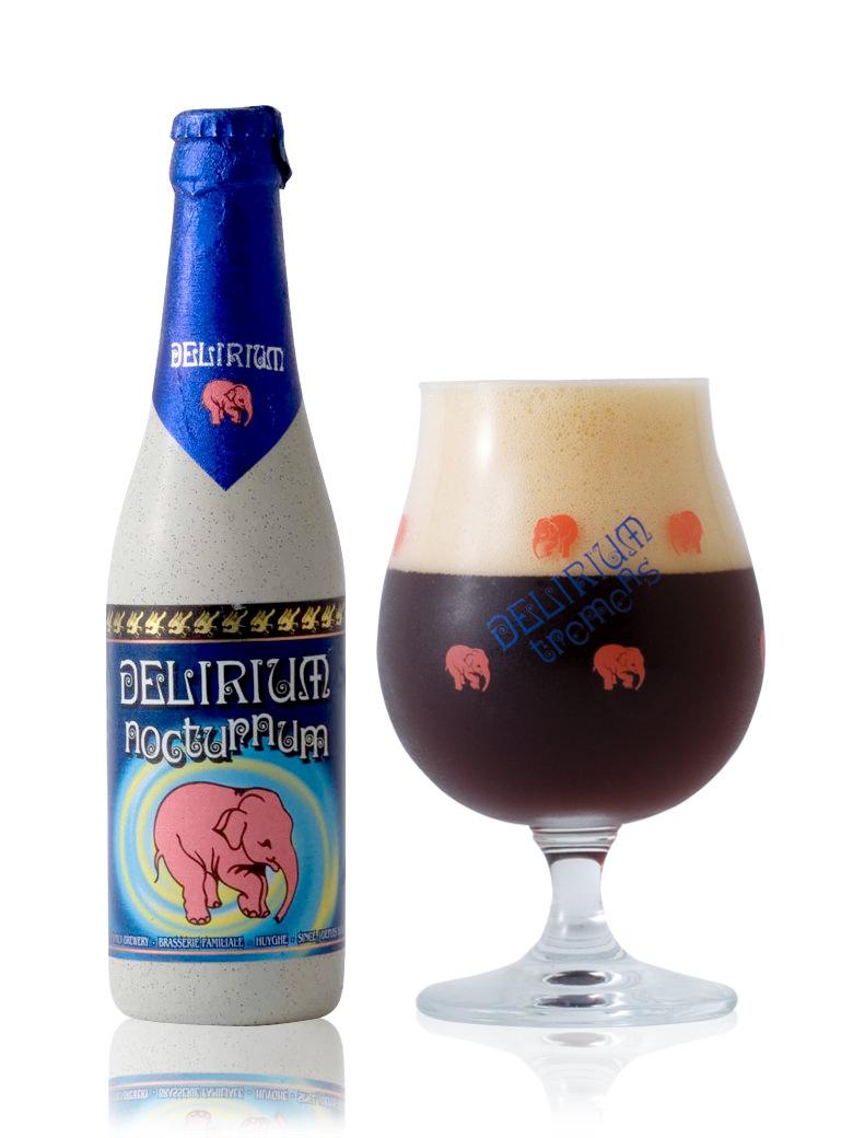 複雑な香りで 正規店 麦芽の苦味と旨味のバランスがよいビール 返品送料無料 デリリュウム ノクトルム330ml