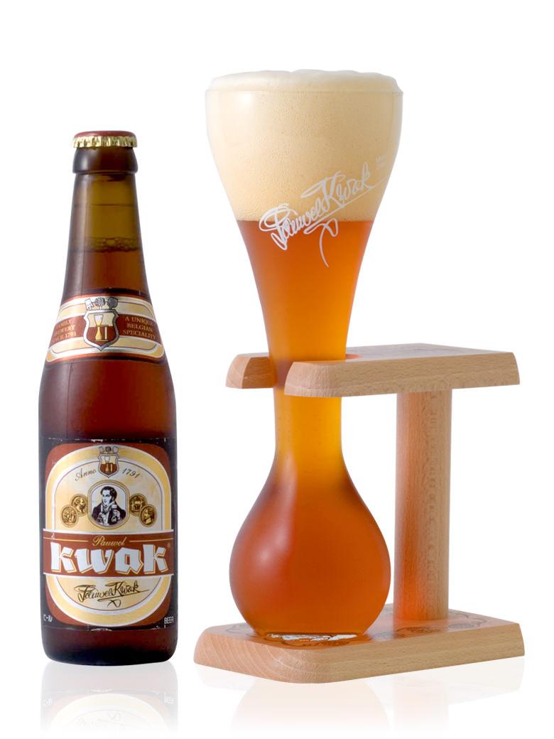 複雑さはありませんが あとに強いアルコール感を感じさせるビール クワック330ml 新発売 期間限定送料無料 パウエル