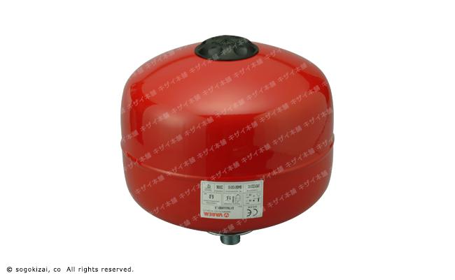 密閉配管用膨張タンク/俵型8リットル/送料・代引手数料無料