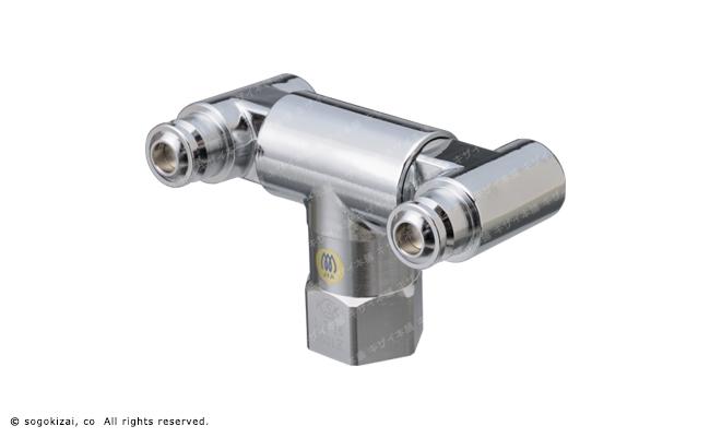 ガスコンセント(鉄管配管用W露出型)