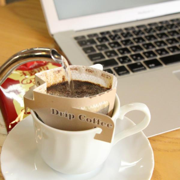 自家焙煎楼門コーヒー ドリップバッグ式 12g【お買い得な80パック】