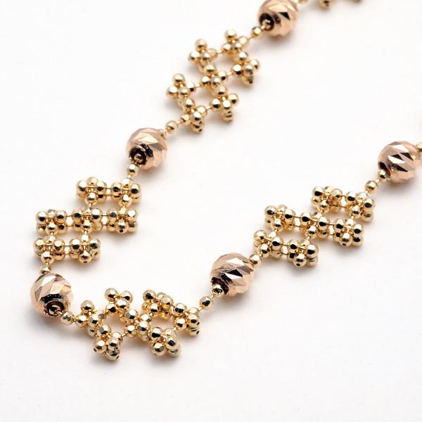 K18 ダイヤモンドダスト ブレスレット /gold/18金/ゴールド/レディースジュエリー