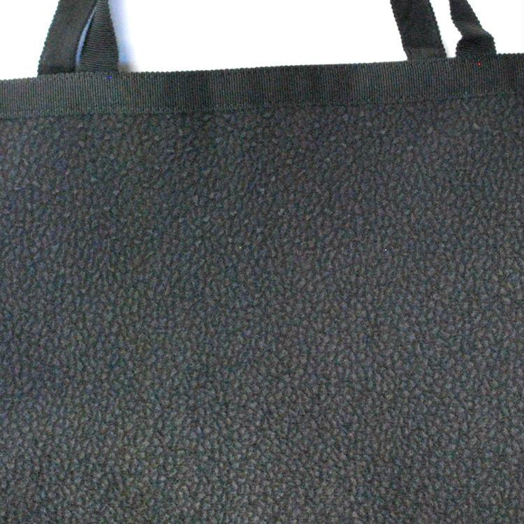 ブラックフォーマル用手提げバッグ★豪華なチュールレース素材のトートバッグ:R473:葬祭時のサブバッグ【ネコポス便発送可1枚のみ】