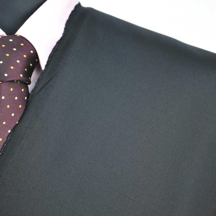 【A】:お好みの素材 尾州ウール生地を使って縫製したスーツ:ビッグサイズ(bigsize)の方に最適:秋冬物パターンオーダーフォーマルスーツ:POW486893-2のS上下出来上がり価格