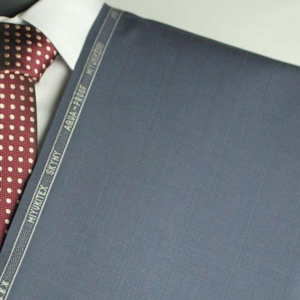 【お試し】当店で初めて作るお客様専用 【A】:お好みの素材・MIYIKITEX生地を使って縫製したスーツPOS501575 春夏用パターンオーダースーツ 用尺3mのS上下出来上がり価格/大きいサイズの方はお遠慮ください