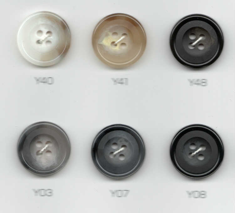 無料オプション:Button-R釦☆当店でオーダースーツを購入される時のオプション