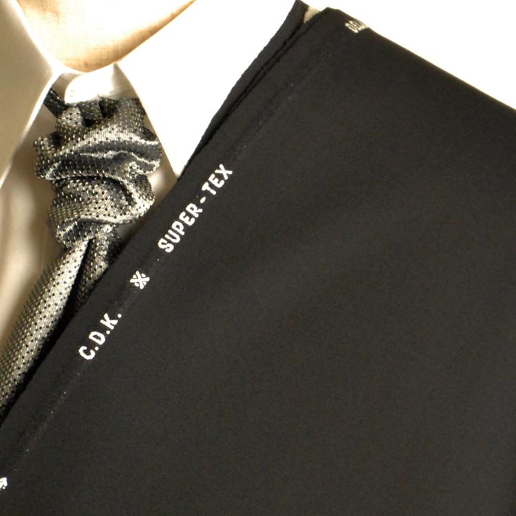 【A】:お好みの素材 スーパーテックス生地を使って縫製したスーツ:ビッグサイズ(bigsize)の方に最適:合夏用パターンオーダーフォーマルスーツ :POS9660NUのS上下出来上がり価格