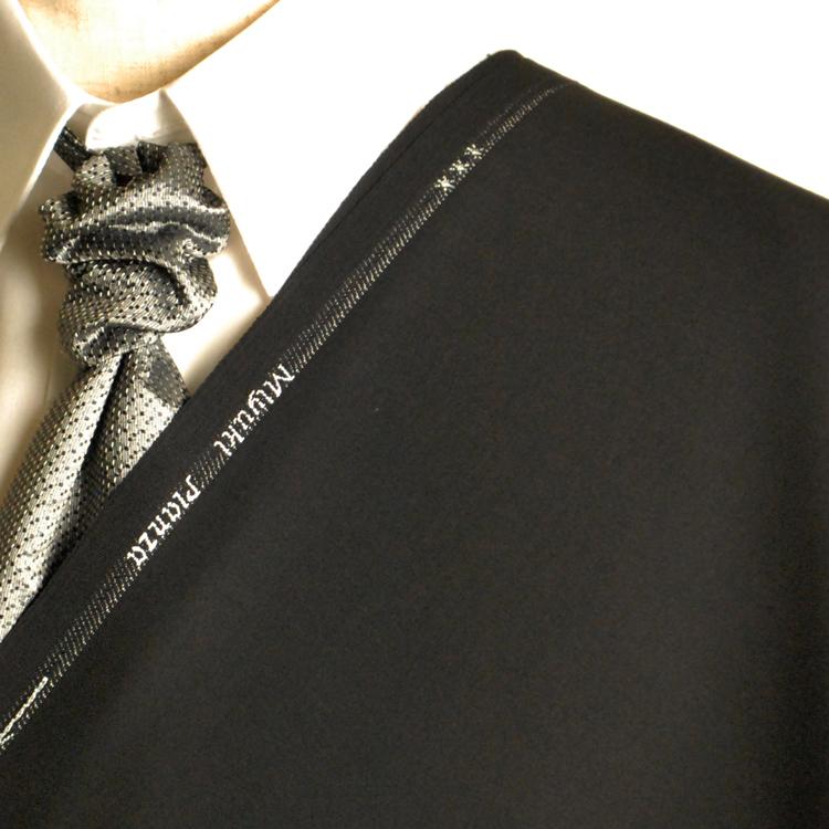 e2775d8d6ddf9 A タキシード 黒 :お好みの素材 パンツ MIYUKITEX生地を使って縫製した ...