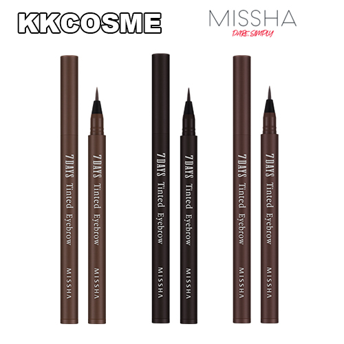 ミシャ セブンデイズ ティンティッド アイブロウ MISSHA Eyebrow Tinted 7DAYS 選択3タイプ アイテム勢ぞろい 特価キャンペーン