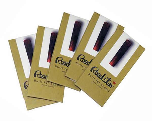 ついに再販開始 メール便配送可 サックスリード Reedster 新商品 新型 リードスター 1枚入 アルト用 テナー用