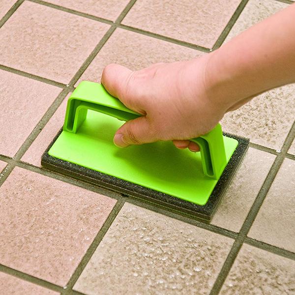 外壁 お玄関掃除スポンジ グリップ付 激安通販ショッピング 玄関ブラッシングスポンジ アズマ工業 卓抜 AZ655