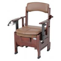 送料無料 幸和製作所(テイコフ) PT05W テイコブ家具調ポータブルトイレ 暖房シート・便座カバー付き