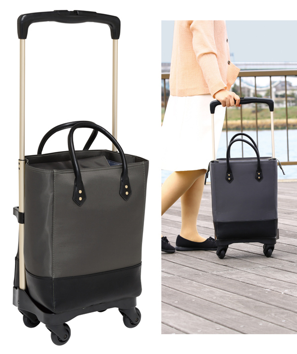 送料無料 幸和製作所 ショッピングカート おとなりカート ボックスタイプ ブラック WCC03-BK